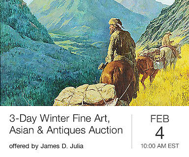 3-Day Winter Fine Art, Asian & Antiques Auction, Day 1
