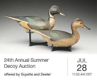 Annual Summer Decoy Auction - Session 1