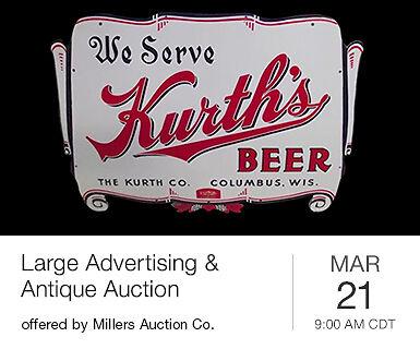 Large Advertising & Antique Auction
