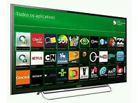 """SONY 60"""" FULL HD SMART LED TV WITH BUILT IN WiFi FREEVIEW HD, HDMI NEW CONDITION FULLY WORKING"""