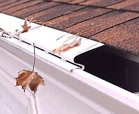 Gutter Clean and Guard Insulation !!!