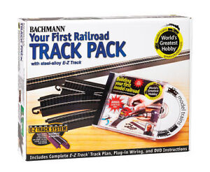 Bachmann Worlds Greatest Hobby Track Pack - E-Z Track Train Set HO Scale #44497