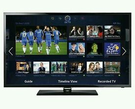 "Samsung 40"" tv smart wifi HD Freeview USB player ."