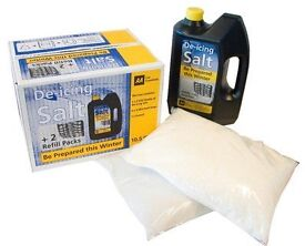 PREPARE FOR THIS WINTER -AA Car Essentials De-Icing Salt Tub and Refills