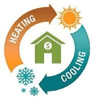 Furnaces, Air Cleaners, Humidifiers, Cleanings, Duct Sealing