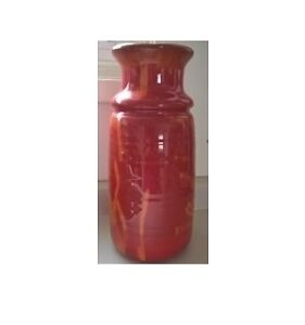 Vintage Blue Mountain Pottery Large Red Vase
