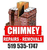 Chimney, Brick, Conctrete, Waterproofing, Historical Restoration