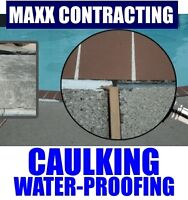 Water-Proofing Caulking Sealing Services