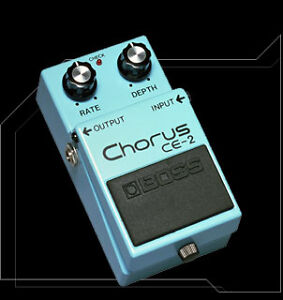 Boss CE-2 Chorus pedal. Vintage Made in Japan
