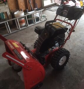 Must sell 4 month old snowblower