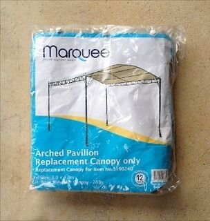 REPLACEMENT CANOPY FOR ARCHED PAVILION MARQUEE / GAZEBO Launceston 7250 Launceston Area Preview