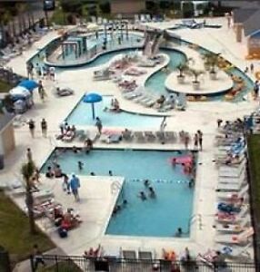 Oceanview 2BR/2BA Condo at Myrtle Beach Resort