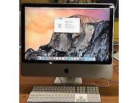 Apple iMac,24'',4gb ,256GB SSD DRIVE,MAC OFFICE 2011,OS X 10.10