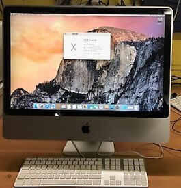 APPLE iMAC 24'',CORE 2 DUO,4GB RAM,256GB SSD DRIVE,OS X 10.10,OFFICE 2010