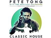 Pete Tong performing Ibiza Classics with the Heritage Orchestra in Cardiff castle