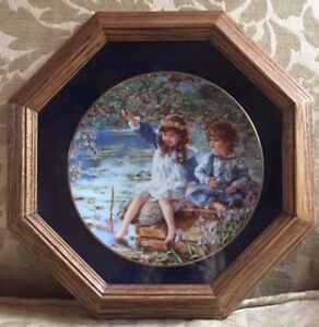 """Limited Edition"" Sandra Kuck ""Patience"" Collector Plate"