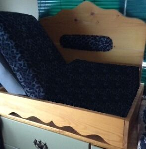 NEW Hand Made Pine Pet Bed for Sale