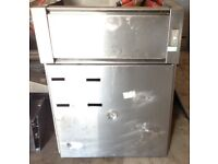 Wall-Mounted Freezer with back plate