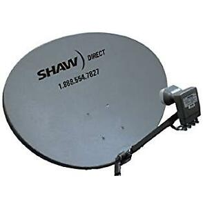 Shaw Direct satellite system (used)