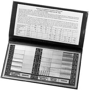 Rubert Surface Roughness Comparison Standards Set #130 REDUCED