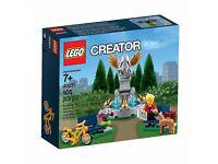 BRAND NEW DISCONTINUED Lego Creator 40221 Fountain Scene!!