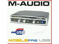 M-Audio USB Interface Perfect For Dj's, Producers and Bands! £25 ONO!