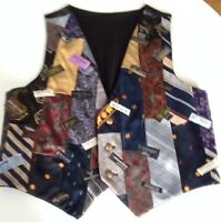 Handmade Tie Vest – Men's (S)/Womens (M) NEW