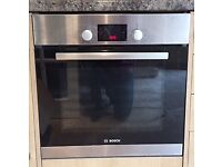 BOSCH Electric Built-in Single Oven - Stainless Steel - HBA13B150B Serie 6