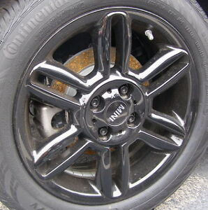 195 55 16 / 205 55 17 tires on OEM Mini Cooper alloy rims