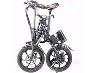 Folding ebike electric pedal bike very different RRP £899 like new