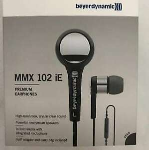 BNIB: Beyerdynamic MMX 102 iE Earphones