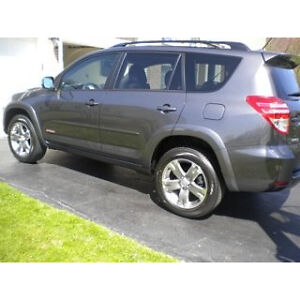 PAINTED BODY SIDE MOLDINGS fits the 2006 - 2014 TOYOTA RAV 4