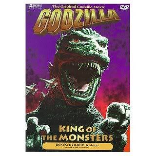 Godzilla King Of The Monsters - New US Gojira DVD on Rummage