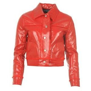 ladies leather jacket women pu pvc faux pleather top girls womens fur plus size