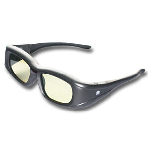 1 pair of Active Shutter 3D glasses- Compatible model PANASONIC TY-ER3D4ME -