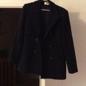 Size 10 Women's Navy coat