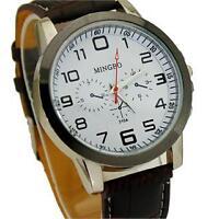 # 244 - Montre-bracelet de marque MINGBO avec bracelet en cuir