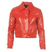 Ladies Leather Jacket 16-18