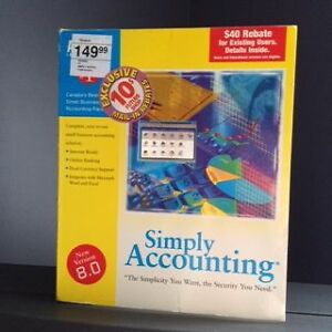 Simply Accounting software - 8.0