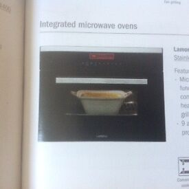 Integrated Lamona combi microwave/grill/oven from Howdens.Only used once but not suitable.