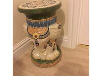 Elephant table/stool