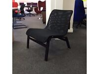 Black Mesh Easy chair