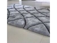 5ftx3ft thick pile rugs with sparkle effect £40 each