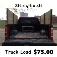 ----- Truck load $75.00 ----- CALL or TEXT (204) 894-4925 -----