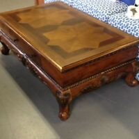 Stunning Coffee Table and Matching End Table