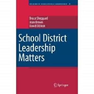 "Book, ""School District Leadership Matters"" St. John's Newfoundland image 1"