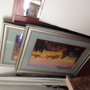 Motel mirrors and paintings for sale