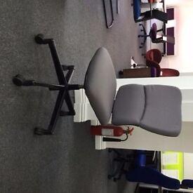 Steelcase Operators Chair Pewter