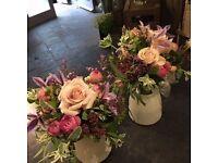 Senior florist