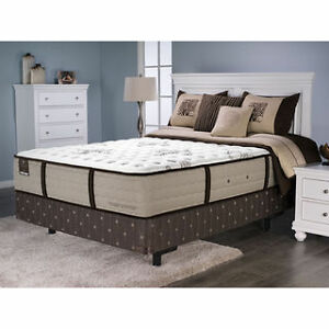 brand new lincoln county sterns and foster queen mattress & box